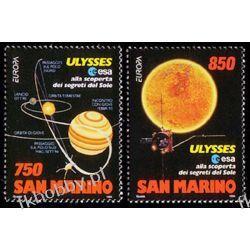 San Marino 1994 1575-76 ** Europa Cept Kosmos Pozostałe