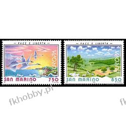 San Marino 1995 Mi 1607-08 ** Europa Cept Ptaki