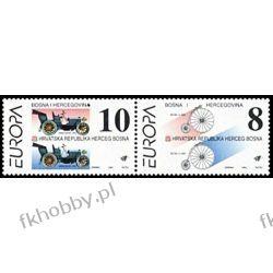 BiH Mostar 1994 Mi 17-18 ** Europa Cept Samochód Rower