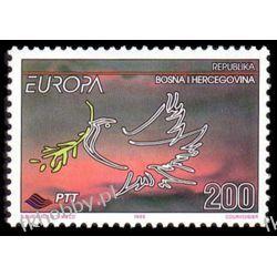 Bośnia i Hercegowina 1995 Mi 24 ** Europa Cept Gołąb