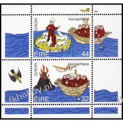 Irlandia 1994 Mi BL 12 ** Europa Cept Św Brendan Morze Polonica