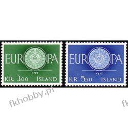 Islandia 1960 Mi 343-44 ** Europa Cept  Polonica