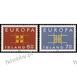 Islandia 1963 Mi 373-74 ** Europa Cept  Marynistyka