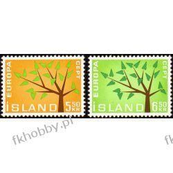 Islandia 1962 Mi 364-65 ** Europa Cept Drzewo Marynistyka