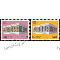 Islandia 1969 Mi 428-29 ** Europa Cept  Flora