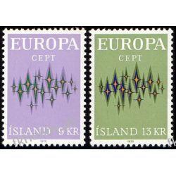 Islandia 1972 Mi 461-62 ** Europa Cept  Pozostałe