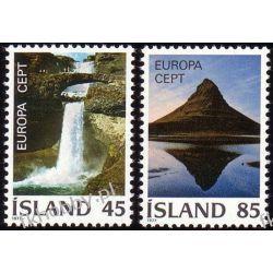 Islandia 1977 Mi 522-23 ** Europa Cept Natura Pozostałe