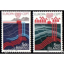 Islandia 1983 Mi 598-99 ** Europa Cept Sport
