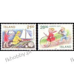 Islandia 1989 Mi 701-02 ** Europa Cept Dzieci Druk wklęsły