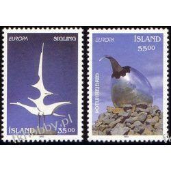 Islandia 1993 Mi 786-87 ** Europa Cept Sztuka Ptaki