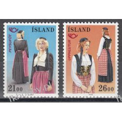 Islandia 1989 Mi 699-00 ** Europa Cept NORDEN Folklor Ptaki