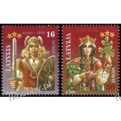 Łotwa 1995 Mi 414-15 ** Europa Cept Legendy Flora
