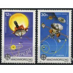 Węgry 1991 Mi 4133-34 ** Europa Cept Kosmos Sport