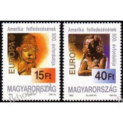 Węgry 1992 Mi 4195-96 ** Europa Cept Majowie Folklor