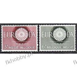 Belgia 1960 Mi 1209-10 ** Europa Cept Pozostałe