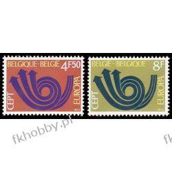 Belgia 1973 Mi 1722-23 ** Europa Cept Marynistyka