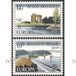 Belgia 1977 Mi 1905-06 ** Europa Cept Architektura Pozostałe