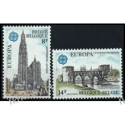 Belgia 1978 Mi 1943-44 ** Europa Cept Architektura Polonica