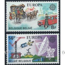 Belgia 1979 Mi 1982-83 ** Europa Cept Koń Samochód San Marino