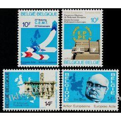 Belgia 1978 Mi 1936-39 ** Europa Cept CEMT Liechtenstein