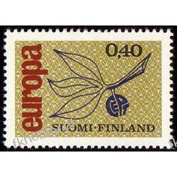 Finlandia 1965 Mi 608 ** Europa Cept Flora Druk wklęsły