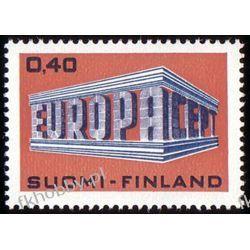 Finlandia 1969 Mi 656 ** Europa Cept Harcerstwo i Skauting