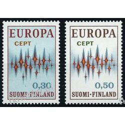 Finlandia 1972 Mi 700-01 ** Europa Cept