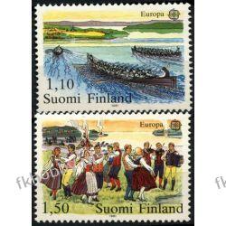 Finlandia 1981 Mi 881-82 ** Europa Cept Folklor Muzyka Liechtenstein