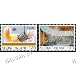 Finlandia 1983 Mi 926-27 ** Europa Cept Kościół Praca