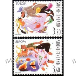 Finlandia 1998 Mi 1432-33 ** Europa Cept Festyn Taniec Pozostałe