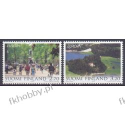 Finlandia 1999 Mi 1474-75 ** Europa Cept Natura Sport