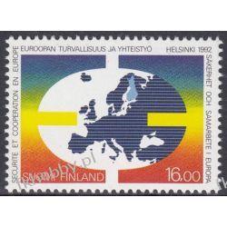 Finlandia 1992 Mi 1166 ** Europa Cept KSZE Mapa