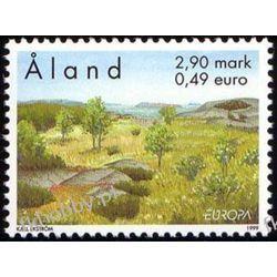 Finlandia Aland 1999 Mi 157 ** Europa Cept Natura Polonica