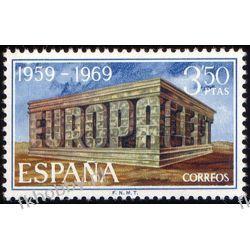 Hiszpania 1969 Mi 1808 ** Europa Cept Pozostałe