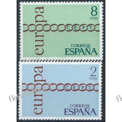 Hiszpania 1971 Mi 1925-26 ** Europa Cept Sport