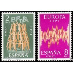 Hiszpania 1972 Mi 1985-86 ** Europa Cept San Marino