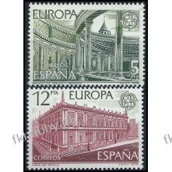 Hiszpania 1978 Mi 2366-67 ** Europa Cept Architektura Sport