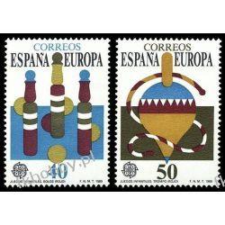 Hiszpania 1989 Mi 2885-86 ** Europa Cept Zabawki Pozostałe