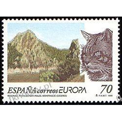 Hiszpania 1999 Mi 3462 ** Europa Cept Kot Ryś Pozostałe