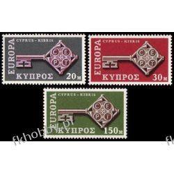 Cypr Gr 1968 Mi 307-09 ** Europa Cept Sport
