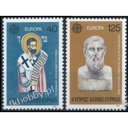 Cypr Gr 1980 Mi 520-21 ** Europa Cept święty Barnaba Flora