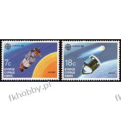 Cypr Gr 1991 Mi 771-72 ** Europa Cept Kosmos Ssaki