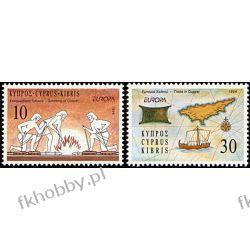 Cypr Gr 1994 Mi 819-20 ** Europa Cept Historia Druk wklęsły
