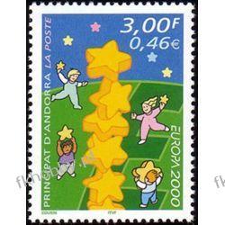Andora Fr 2000 Mi 551 ** Europa Cept Dzieci Ssaki