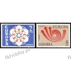 Andora Hi 1973 Mi 84-85 ** Europa Cept Polonica