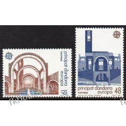 Andora Hi 1987 Mi 193-94 ** Europa Cept Architektura Sport