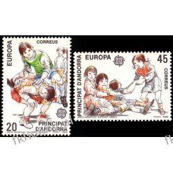 Andora Hi 1989 Mi 209-10 ** Europa Cept Dzieci