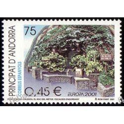 Andora Hi 2001 Mi 280 ** Europa Cept Natura Woda