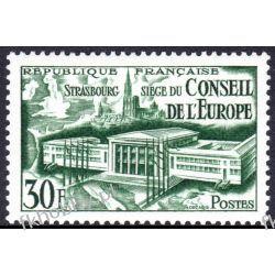 Francja 1952 Mi 942 ** Europa Cept Europarat Pozostałe