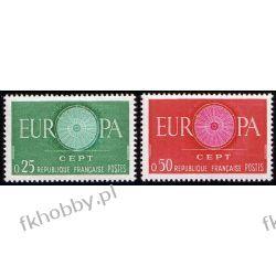 Francja 1960 Mi 1318-19 ** Europa Cept Pozostałe